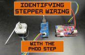 Identificeren van Stepper bedrading met de Pmod stap