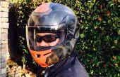 Hoe een motorhelm airbrush
