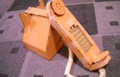Hoe maak je een kartonnen telefoon