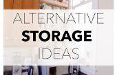 9 alternatieve opslag ideeën