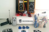 HackerBoxes 0000: DC Circuits, Software Radio, RFID, infrarood