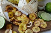 Krokant gebakken weegbree Chips - 3 heerlijke smaken