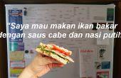 Een nieuwe taal leren (terwijl u maak je een sandwich!)