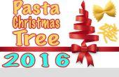 Hoe maak je Pasta kerstboom + M & Ms