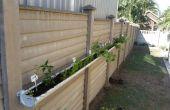 Kleine ruimte leven kruid/veg tuin