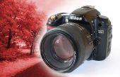 DIY permanente infrarood DSLR Camera