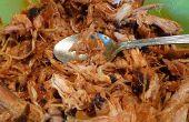 Eenvoudig gerookte Paprika Pulled Pork recept
