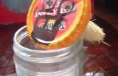 Geheime Ninja tarwe plakken Jar