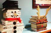 Sneeuwpop boek Sculpture