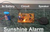 Sunshine Alarm met behulp van LM555 en LM358