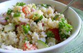 Traditionele Tabouleh Vegan salade van het Midden-Oosten