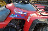 Problemen oplossen/herstellen van een Kawasaki Bayou KLF300 ATV elektrische heffingsregeling