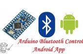 Arduino pro mini HC-06 Bluetooth en Android App