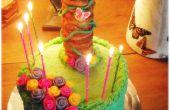 Rapunzel de toren taart (voor een verwarde partij)