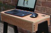 DIY Laptop tabel - met behulp van beperkte hulpmiddelen & multiplex