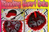 Bloeden hart taart