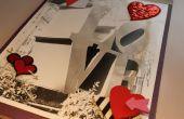 Handgemaakte LOVE boek (uit een oude foto & overgebleven leveringen)