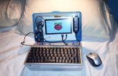 Netbook-Laptop bouwen voor $ 160 - Raspberry Pi aangedreven.