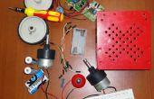 Een eenvoudige en goedkope DIY Line na robot