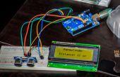 Arduino ultrasone Bereikindicatie, met I²C lcd display!