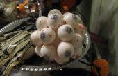 Eenvoudige oog springende gemakkelijk halloween decoratie