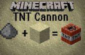 Hoe maak je een minecraft TNT kanon