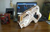 Lasergesneden M-6 Carnifex Rubber Band Gun van Mass Effect