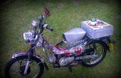 "Star Wars Honda ct110 ""Postie"" fiets."