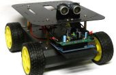 Wall-E is anti-sociaal neef: Object vermijden van Arduino Robot gecontroleerd!