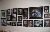 Maken van een foto-muur