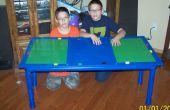 Hoe maak je een Lego-tafel uit PVC pijp
