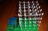 LED kubus met Arduino en aangepaste PCB