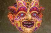 Garen en Hot Melt lijm masker