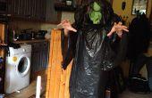 Goedkoop, snel en makkelijk boze heks Halloween kostuum