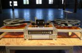 Kinograph v0.1 DIY Film Scanner/Telecine - Machine assemblage