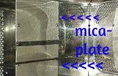 Preventief onderhoud op een magnetron-oven