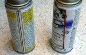 Een Spray kan mondstuk holster met behulp van Sugru