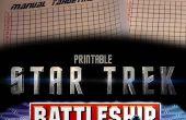 Star Trek slagschip Tactical Combat spel (papieren)