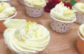 Zesty citroen Cupcakes