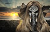 Jungleboek olifant - SFX make-up Tutorial
