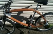 Hout fiets 2
