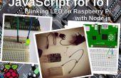 JavaScript voor IoT: knipperende LED op Raspberry Pi met Node.js
