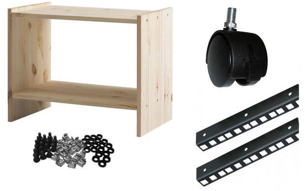 8u Rack Case Van Ikea Rast Tabel Stap 1 Het Winkelen