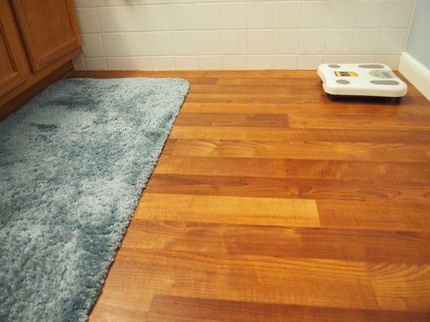 Linoleum Vloer Badkamer : Badkamer linoleum vloeren vervanging project cadagile.com