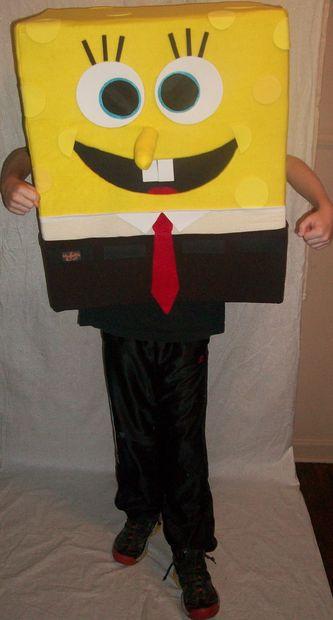 Fonkelnieuw DIY SpongeBob Squarepants mascotte Halloween kostuum - cadagile.com ZN-54