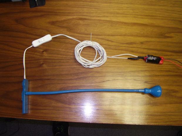 IKEA Jansjo Lamp 12 Volt Hack - cadagile.com