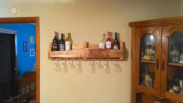 Betere Hoe Pallet wijn Rack - cadagile.com ZI-92