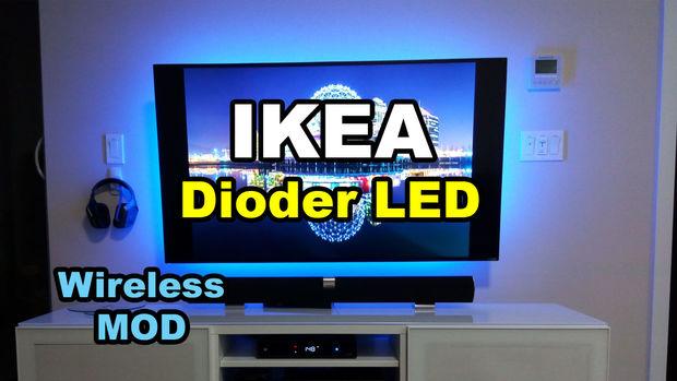 IKEA Dioder LED-Strip draadloze Mod - cadagile.com