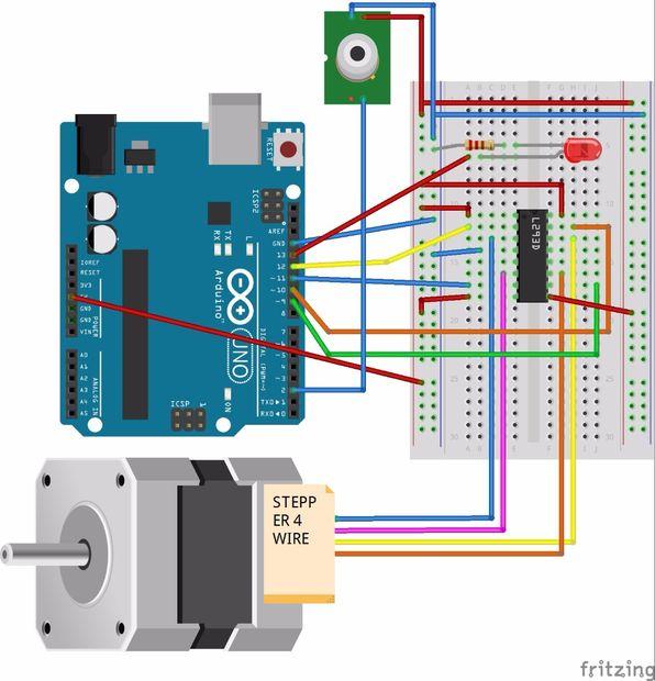 Pir Sensor Met Arduino Activeren Stappenmotor Cadagile Com