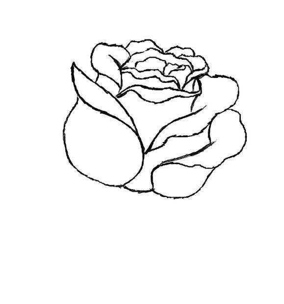 Onwijs Hoe teken je een rode roos / Stap 6: Stap 6 - cadagile.com TZ-99